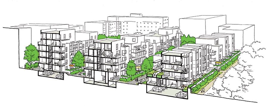 Les All 233 Es Blanches Rue Royale Architectes